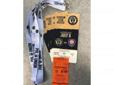 4 Field Side Table Tickets Philadelphia Uni...