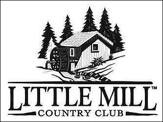 Foursome for golf at Little Mill Country Cl...