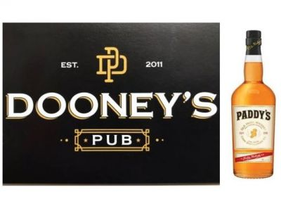 $100 Dooney's Pub Gift Card with 1 bottle P...