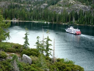 Sightseeing Tour for Three to Emerald Bay, Lake Tahoe on the M.S. Dixie II Paddle Wheeler