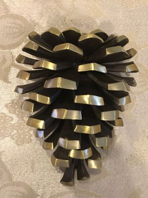 Bronze Pinecone Door Knocker