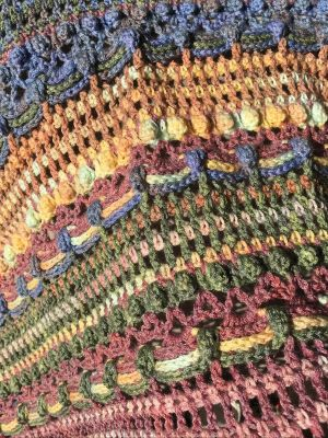 Party Time: A Handmade Crochet Shawl