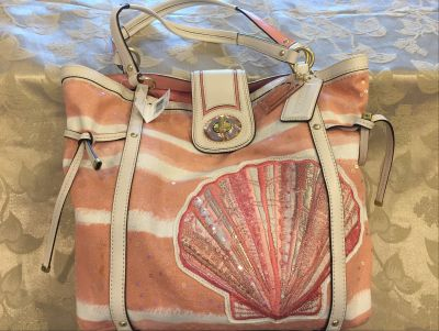 Coach Seashell Cinched Tote
