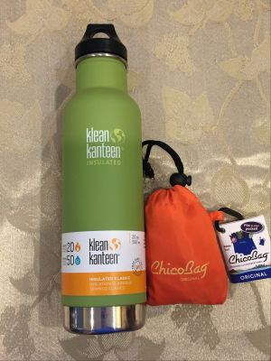 Klean Kanteen and Chico Bag Set