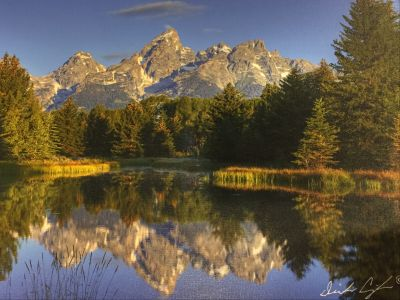 Grand Teton Reflection Photograph