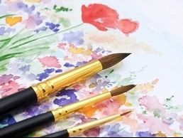 Watercolor Painting Session