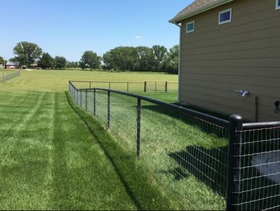 600' of Four Foot No Climb Fence