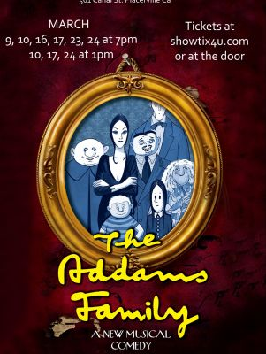 Four Tickets to The Addams Family