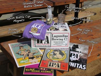 Lagunitas Brewing Company Sip and Spill Package