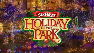 4 Six Flags Holiday in the park tickets