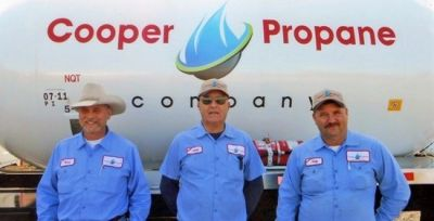 150 Gallons of Propane from Cooper Propane