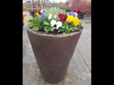 Nice Planter with Assorted Plants/Flowers