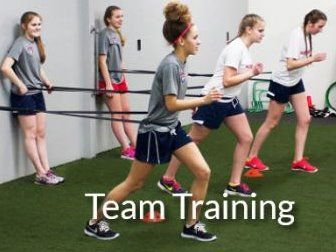 Absolute Fitness and Sports Performance - One Team Training Session
