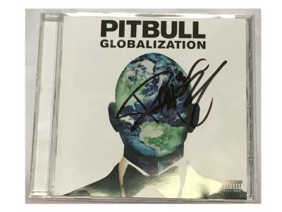 Autographed Pitbull Globalization CD
