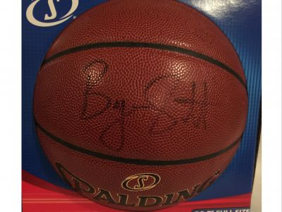 Byron Scott, Former L.A. Lakers Coach, Autographed Basketball
