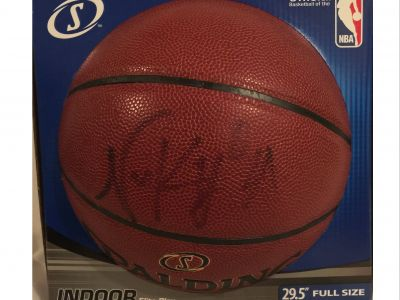 Nick Young, #0 for the L.A. Lakers, Autographed Basketball
