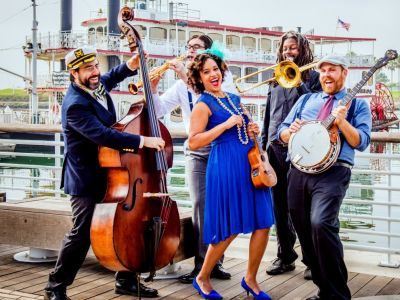 6 Tickets to Jazzy Ash and  the Leaping Lizards at the ECA! + $50 Gift Card for Demetris Woodstone Taverna