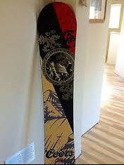 Coors Banquet Collectible K2 Snowboard