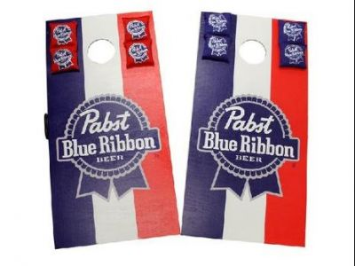 Limited Edition Pabst Blue Ribbon Corn Hole Board Game