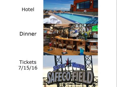 Night on the Town at Safeco Field with the Mariners - Tickets, Dinner and Hotel!