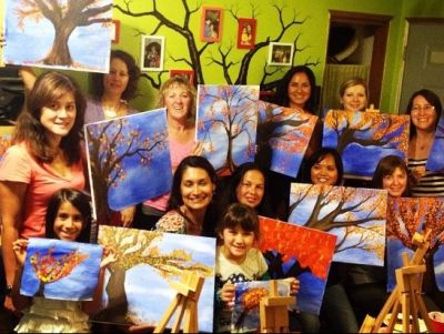 Paint and Sip Party for 10 People
