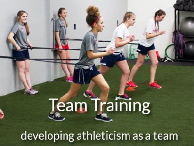 Absolute Fitness and Sports Performance - Two Team Training Session