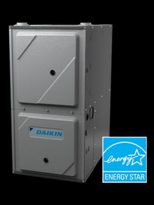 New DAIKIN 95 Percent AFUE Gas Furnace Installation