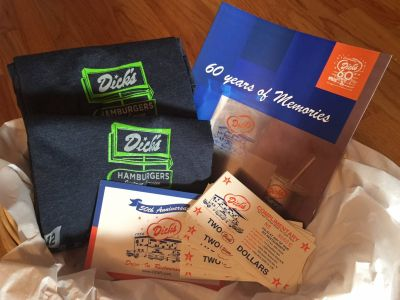Dick's Drive-In Memorabilia and Gift Cards