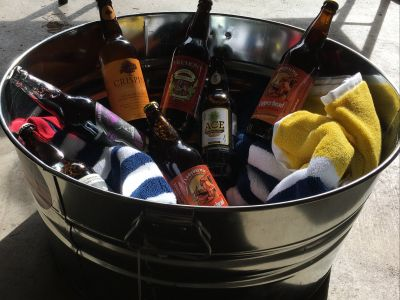 Beach Party Tub of Beer