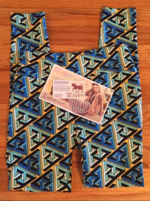 $100 Lularoe Gift Certificate and Blue Patterned Legging