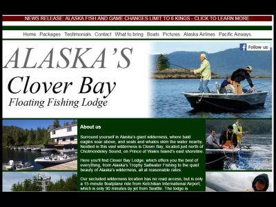 Clover Bay Alaska Lodge Fishing Adventure