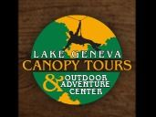 BASKET-  $100 Gift Certificate to Lake Geneva Canopy Tours + Lake Geneva tie-dye long-sleeved t-shirt + $25 Gift Card to The Board Shop, Lake Geneva