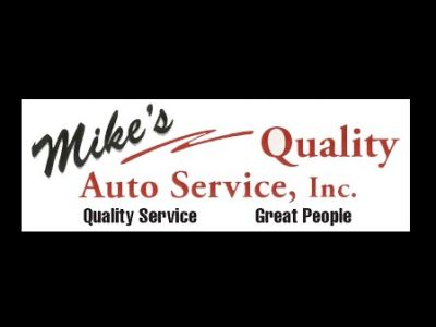 LIVE AUCTION- $500 Gift Certificate to Mike's Quality Auto Service