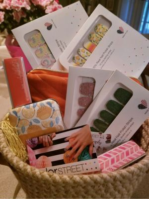 BASKET-  Color Street Nail Polish Strips and Accessories