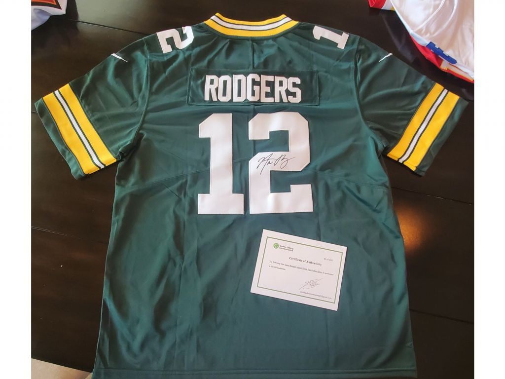 Aaron Rodgers Packers Jersey