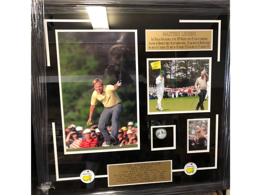 Jack Nicklaus Masters Collage