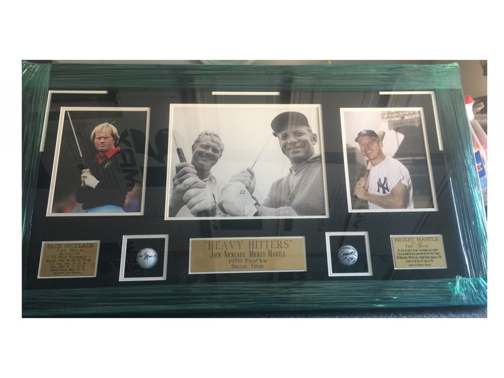 Heavy Hitters (Jack Nicklaus - Mickey Mantle)