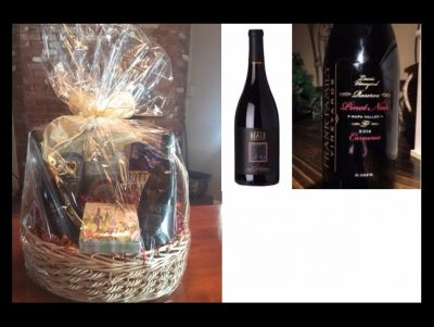 Red Wine Lovers Basket