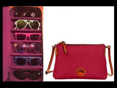 Styling with Dooney & Bourke Cranberry ...