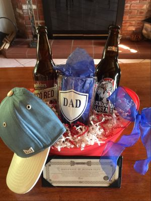 Bucket of Beer and More for Dad