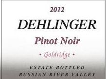 Dehlinger 2012 Goldridge Pinot Noir