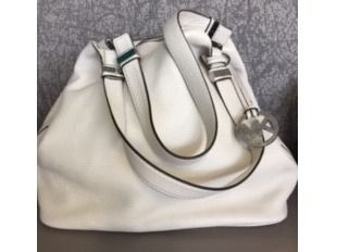 MK Cream Hobo Bag