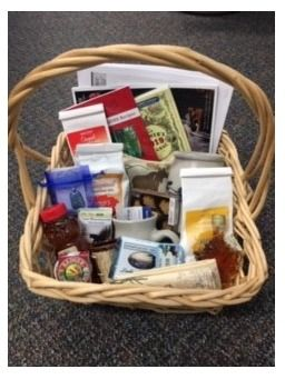 Basket of NH Made/Published Items and Produ...