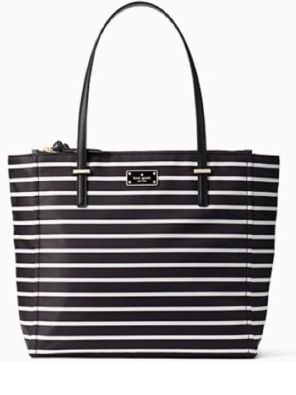 NWT Kate Spade French Stripe Talya Tote