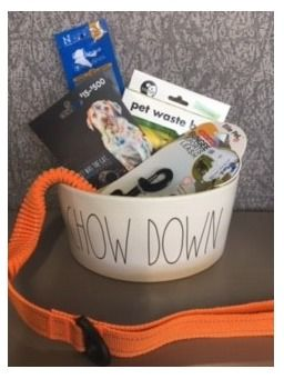 Dog Bowl of Goodies and $75 Petco Gift Card