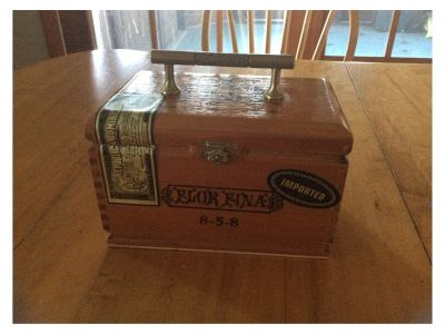 Cigar Box Purse