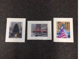 Set of Three 12x16 Color Matted Photos - Ne...