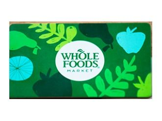 Whole Foods Gift Card $250