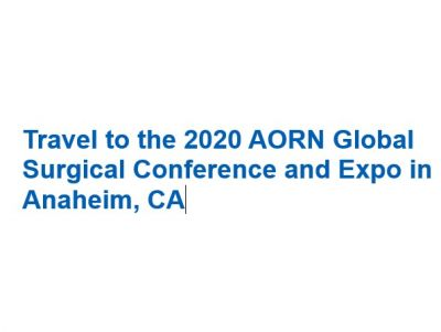 Travel to Anaheim for the 2020 AORN Global ...