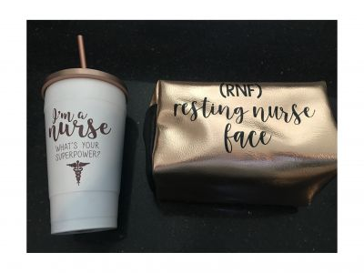Nurse Mug and Cosmetic Bag